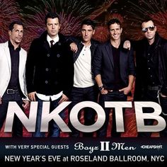 NKOTB may have grown up, but they are better than ever!! We are excited to have them, 98 Degrees, and Boyz II Men at the Yum! Center June 24th.