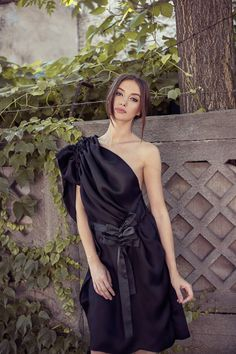 3005D AT LR One Shoulder, Shoulder Dress, Piece Of Clothing, Costa, Formal Dresses, Clothes, Collection, Fashion, Atelier