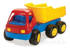 Køb Lastbil i plast fra Dantoy - Længde: 84 cm. online - Dantoy