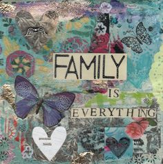 family is everything  print by kimartwork on Etsy, £10.00