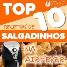 Top 10 Receitas de Salgadinhos na AirFryer