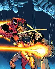 Deadpool Team-Up 890 Cover. #HumbertoRamos #JamesAsmus #MicahGunnell #MachineMan #AaronStack #X51#PuppetMaster #Deadpool #Deadpool2 #D2 #Superheroes #WadeWilson #DeadpoolTeamUp #DeadpoolComics #Chimichanga #SuicideKings #MercWithaMouth #Mercenary #DishonorableDischarge #Comics #ComicBooks #Marvel #MarvelComics #MarvelUniverse #ComicsDune