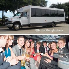 Junior prom fun in a party bus! Call us now to book a party bus or limo for your upcoming prom or event! -------------------------------- For booking & inquiries:  Call 800-287-8414  Visit: www.bostonpartybuslimo.com Email: info@bostonpartybuslimo.com