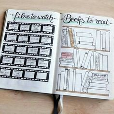 Your bullet journal ideas can be used for so much more than just keeping track of your to do list. Get inspired by these bullet journal spreads you need to try in this year! Bullet Journal Tracker, Bullet Journal Page, Bullet Journal Notebook, Bullet Journal Inspo, Bullet Journal Spread, Book Journal, Books To Read Bullet Journal, Beginner Bullet Journal, Blog Planner