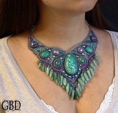 Sea Tale necklace view1 by ~gbdreams on deviantART
