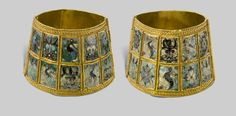 Bracelets, 9th–10th century, Constantinople, Turkey.  Museum of Byzantine Culture, Thessaloniki.  Image courtesy of the Art Institute of Chicago