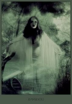 The most familiar of all death omens is, of course, Ireland's banshee. Her name in Gaelic
