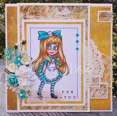 Visible Image stamps - Alice In Wonderland - Lisa Nygards 1 Classic Quotes, Image Stamp, My Stamp, Alice In Wonderland, The Book, Cardmaking, Lisa, Old Things, Princess Zelda