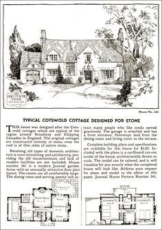 Design No. 341  1935 Ladies Home Journal House Pattern Catalog