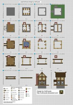 High Quality And Here Is The (hopefully) Final Version Layout. I Ditched The Individual  Layer · Minecraft PlansMinecraft TemplatesMinecraft CreationsMinecraft ...