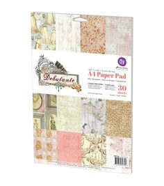 Prima Marketing Debutante 30pcs A4 Double-Sided Paper Pad
