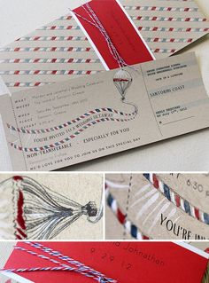 This is adorable! Perfect for a destination wedding.