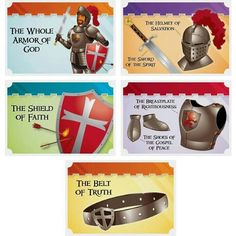 Put on the whole armor of God!!
