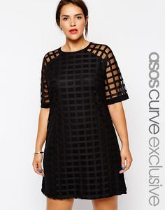 This full-cage dress also comes in a cage sleeve style, which is pretty cool. I think I like the full-cage dress better.