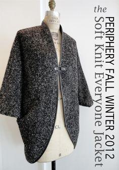 Periphery Fall 2012 Soft Knit Jkt