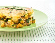 Sformati di zucchine e patate dorate all'erba cipollina - Tutte le ricette dalla A alla Z - Cucina Naturale - Ricette, Menu, Diete