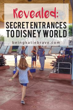 4 Secret Entrances to Disney World Revealed! Get the Disney World secrets for the fastest and easiest way into all the Disney World parks --revealed in this ultimate Disney planning guide for Disney World Secrets, Disney World Parks, Disney World Tips And Tricks, Disney Tips, Disney Fun, Brave Disney, Disney Travel, Disney Ideas, Disney Crafts