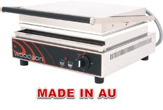 Commercial Contact Grill - Woodson WCT6 Single Contact Grill - www.hoskit.com.au- Kitchen & Catering Equipment