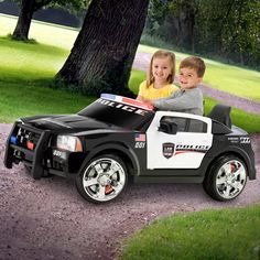 Kid Trax Dodge Pursuit Police Car 12-Volt Battery-Powered Ride-On - Walmart.com