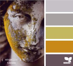 angelic tones. this is what i wanted but jimmy likes puke green. but i like it to haha. reminds me of my last job!