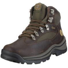 """Timberland Women's Chocorua Trail Boot Timberland. $90.00. B.S.F.P. motion efficiency system lug outsole. Rubber sole. Platform measures approximately 4.5  ] . Heel measures approximately 1.25"""". EVA midsole. Shaft measures approximately 4.5"""" from arch. Gore-Tex membrane and seam-sealed construction for waterproof protection. Leather and textile. Removable, dual-density EVA footbed"""