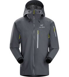 Theta SVX Jacket Men's Theta Series: All-round mountain apparel with increased coverage | SV: Severe Weather. A highly feat...