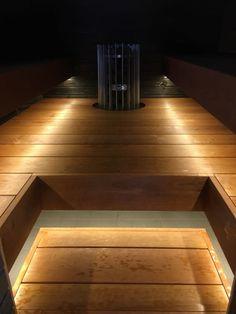 Rentouttava saunakokemus syntyy tyylikkäästä designista ja yksilöllisistä ratkaisuista. #saunaremontti #sauna #kontiomaa Hardwood Floors, Flooring, Texture, Crafts, Design, Wood Floor Tiles, Surface Finish, Wood Flooring, Manualidades