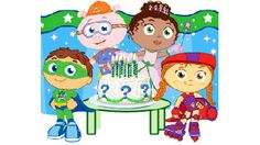 Super Why Birthday Party - http://www.pbs.org/parents/birthday-parties/super-why-birthday-party/