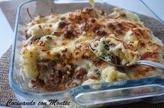 Una receta de lo más completa y buenísima donde se combinan carne y verdura