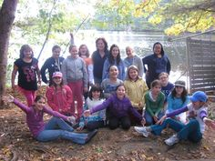 One camping trip the Girl Scouts went on...