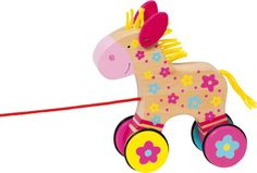 Natural and high quality toys to the development of the skills of children. Clahra - Horse