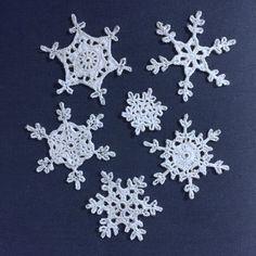 Suvi's Crochet: Snowflake 1 - free crochet pattern