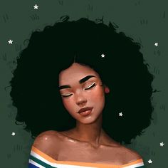 - Afro easy to wear gives you a natural look with More Beauty💃, More Love😘💕💕 Black Love Art, Black Girl Art, Art Girl, Natural Hair Art, Natural Hair Styles, Afrique Art, Black Girl Cartoon, Black Art Pictures, Black Artwork