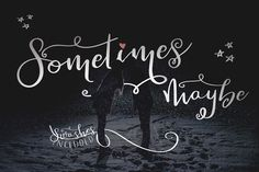 Sometimes Maybe + Extras by Rawberry Strubarb Ink. on @creativemarket