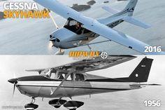 Cessna 172 Skyhawk: avião mais produzido da história, com cerca de 43 mil…