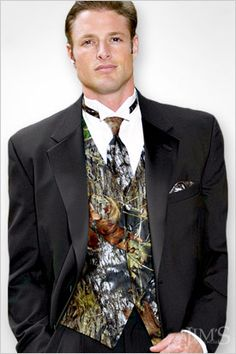 Camo can be classy  http://www.jimsformalwear.com/images/product/acc_vst_camo.jpg