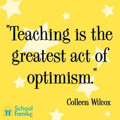 Inspirational quotes for teacher appreciation celebrations!