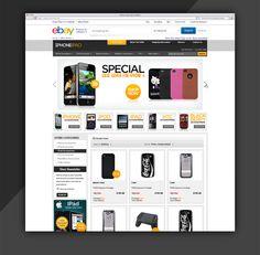 Fabulous ebay Store Design by eStore Services  http://www.estore-services.com/ebay-store-designs.html