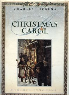 """Charles Dickens """"Christmas Carol"""" – Illustrated by Roberto Innocenti Merry Christmas To All, Christmas Books, A Christmas Story, Christmas Classics, English Christmas, Victorian Christmas, Christmas Holiday, Christmas Carol Charles Dickens, So Little Time"""