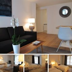 Beautiful cozy 2-bedroom apartment in Paris for rent on Rue du Faubourg Saint-Honore in the 8th district of the capital. The flat is fully renovated and offers its tenants new quality furniture and home appliances, attractive interior design.