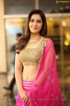 Check Out Exclusive Photoshoot of Raashi Khanna in Pink Dress at Srinivasa Kalyanam Success Meet Beautiful Girl Indian, Most Beautiful Indian Actress, Beauty Full Girl, Beauty Women, South Indian Actress Hot, Bollywood Girls, Tamil Girls, Beautiful Bollywood Actress, Indian Beauty Saree