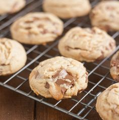 Peanut Butter Rolo Cookies by Tracey's Culinary Adventures, via Flickr