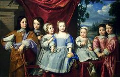 Philippe de Champaigne - Portrait of the children of Habert de Montmort