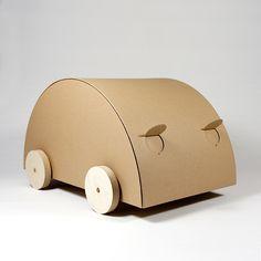 cardboard car KAARA - natur | MORROWS