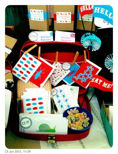 Originate craft fair - developing our stall displays