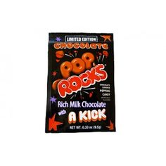 POP ROCKS CHOCOLATE....LIMITED EDITION