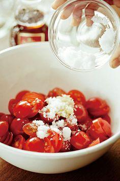 話題の調味料「濃厚塩トマト」って知ってる?【オレンジページnet】プロに教わる簡単おいしい献立レシピ