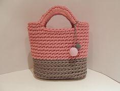 Crocheted rope bag / market bag / crochet by RasvyteEcoHandmade