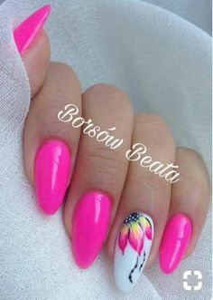 Semi-permanent varnish, false nails, patches: which manicure to choose? - My Nails Summer Acrylic Nails, Best Acrylic Nails, Acrylic Nail Designs, Spring Nails, Nail Art Designs, Pink Summer Nails, Fabulous Nails, Gorgeous Nails, Stylish Nails