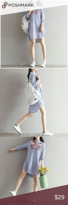 Lovely Dress Brand new.   Sizes: M/L/XL/2XL  Length: 80/81/82/83cm  Sleeve: 57/58/59/60cm  Shoulder: 37/38/39/40cm  Bust: 92/96/100/104cm Dresses Maxi